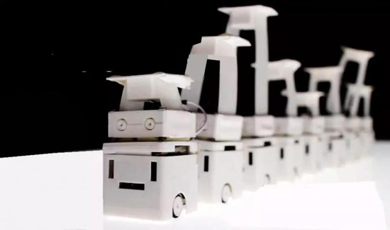 研究者提出的集群机器人