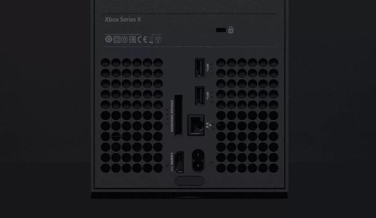Xbox Series X后端口